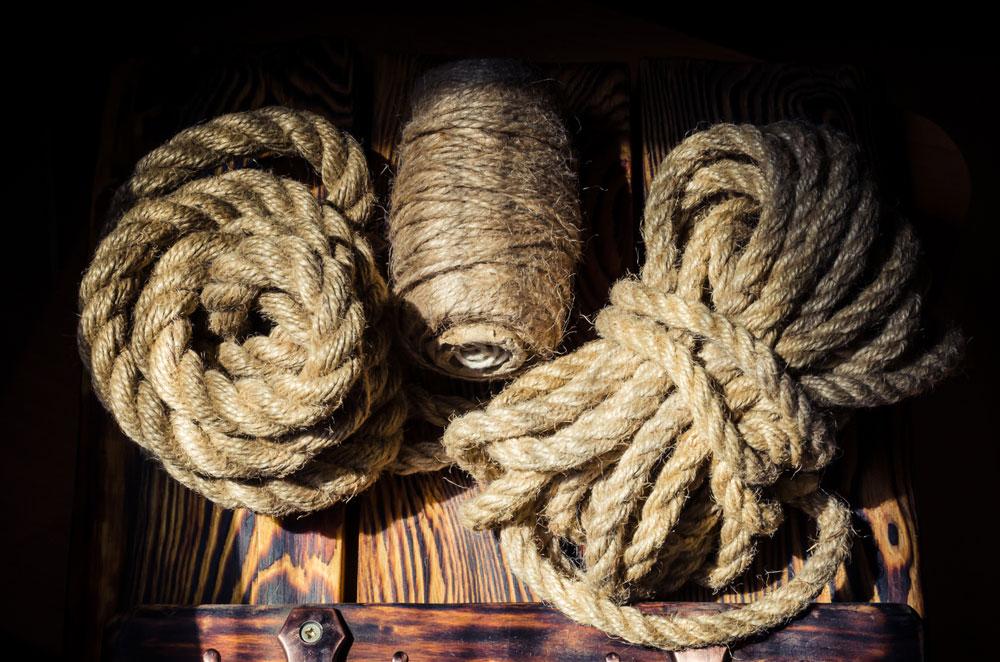 Three Hemp Ropes