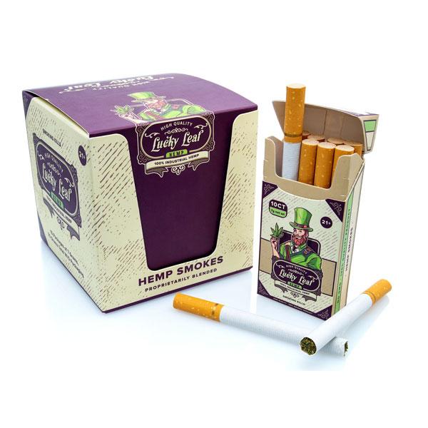 Lucky Leaf hemp smokes - Lucky Leaf hemp cigarettes